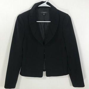 Anne Taylor 2P black women's blazer